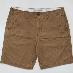 American Eagle Classic Flat Front Shorts 36W